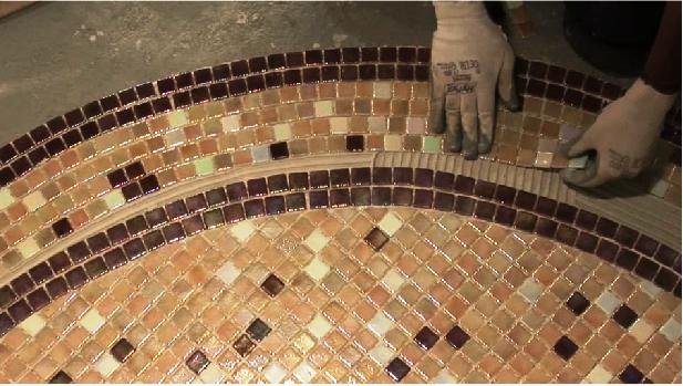 Mozaic piscine mozaic amenajari interioare for Amenajari piscine