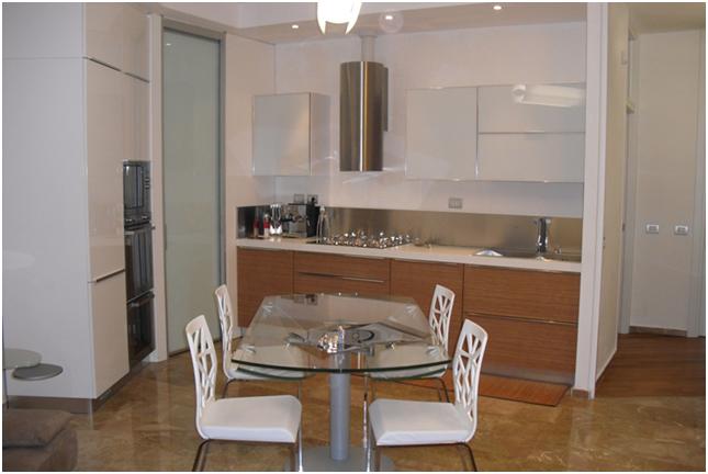 Cucine soggiorno unico ambiente piccolo