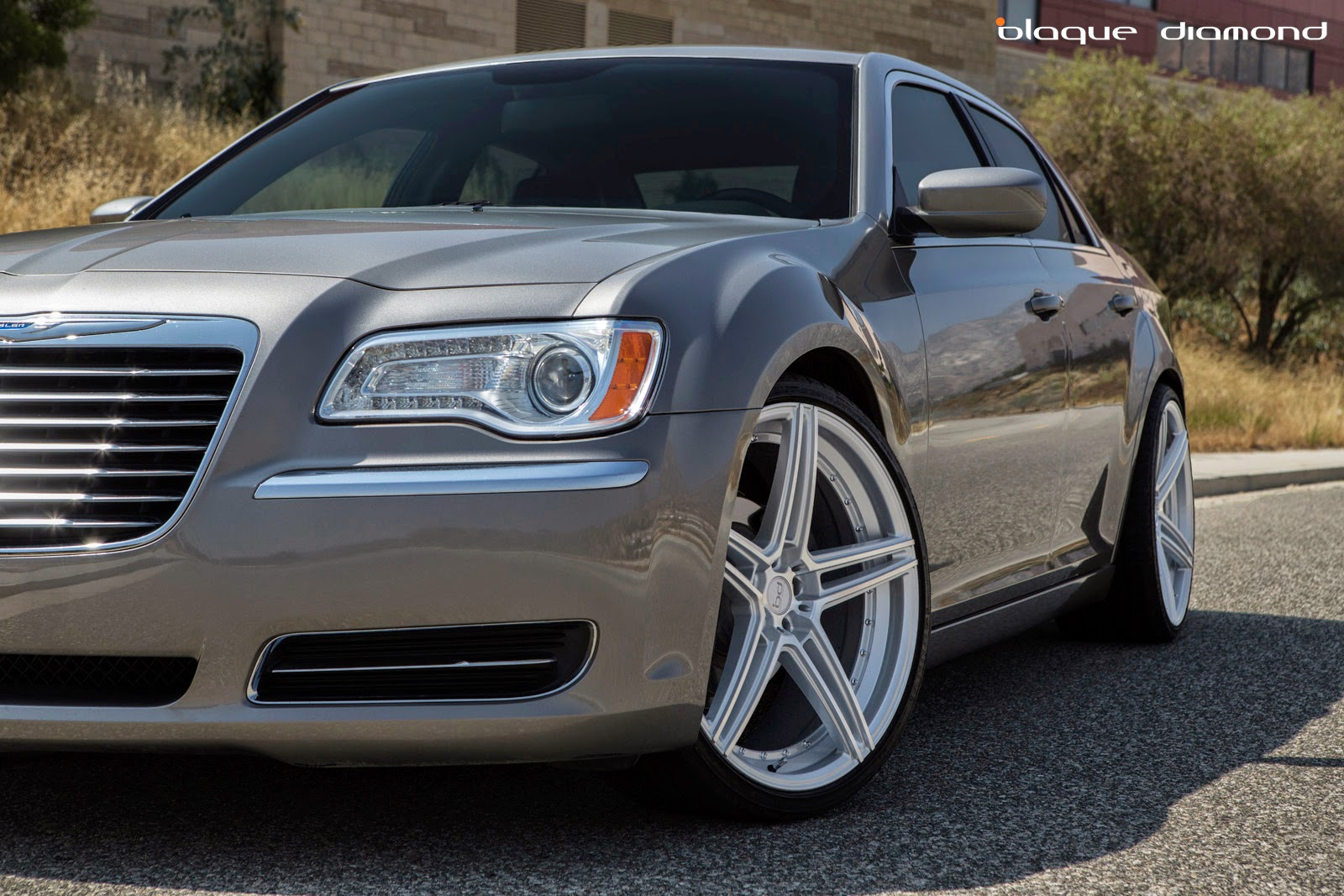 2012 Chrysler 300c With 22 Inch Bd 6 S In Silver Polish