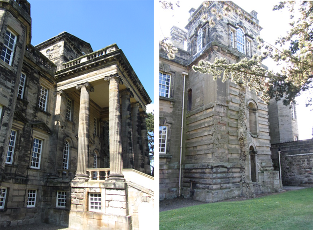 Classical old building, Seaton Delaval Hall