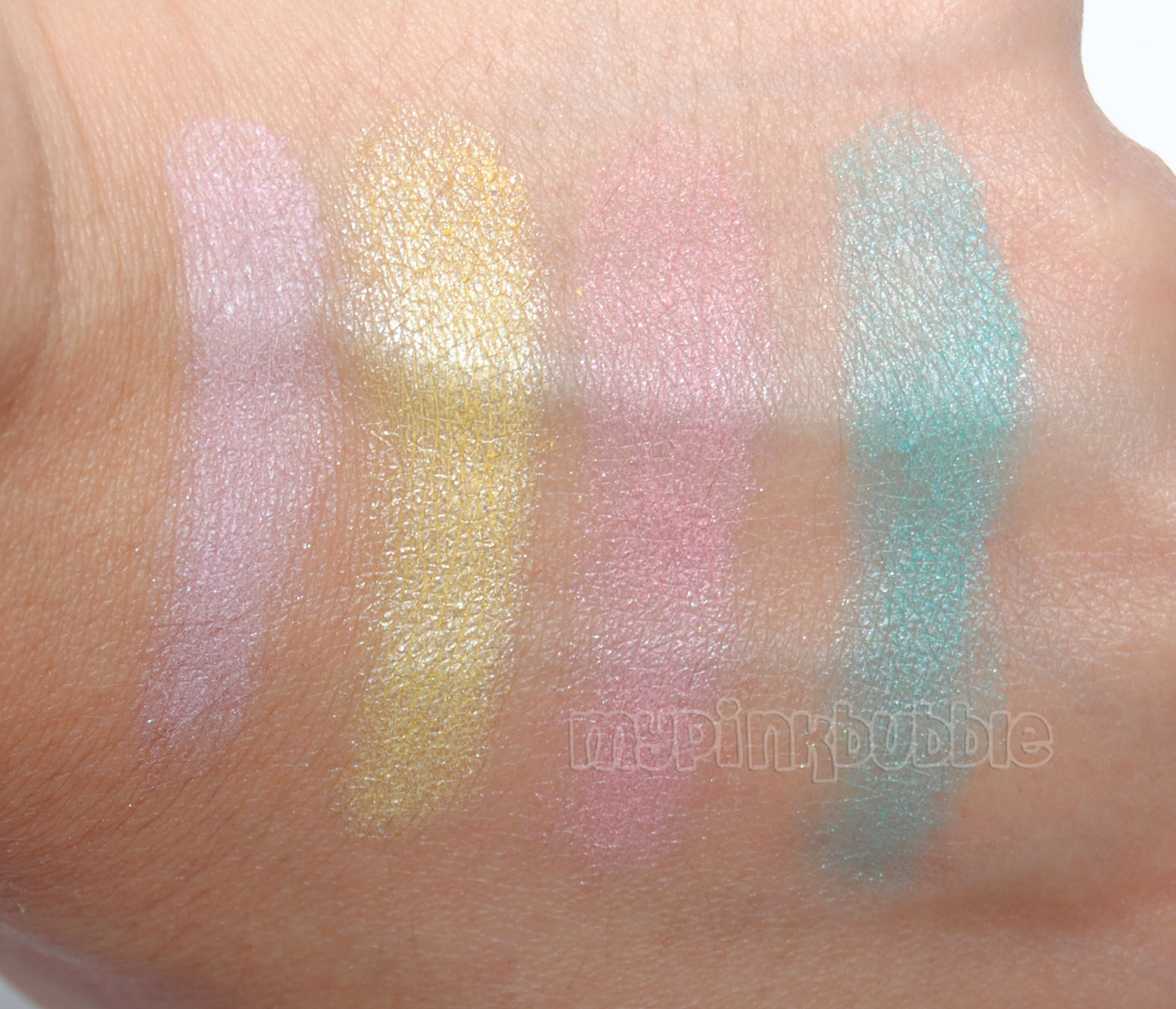 Paleta poster child wet n wild swatches
