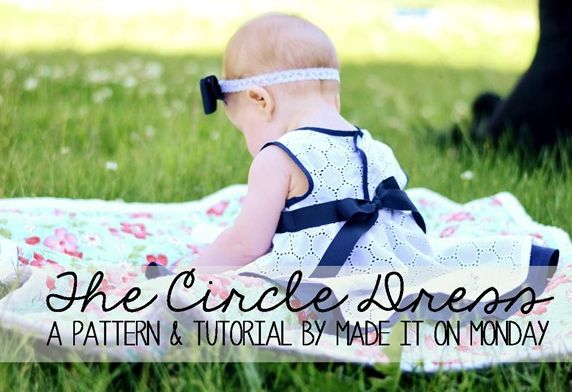 Circle Pattern Dress Tutorial