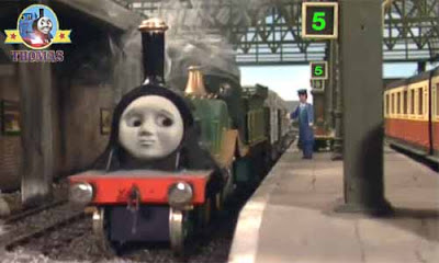 Lovely Emily Thomas friend Sodor main station platform 5 Birthday cake flour recipe station master