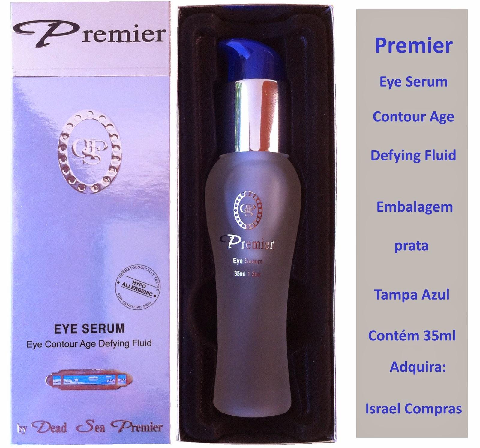 Serum Premier para o contorno dos olhos