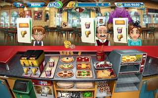 Cooking Fever v1.4.0 [MOD] - andromodx
