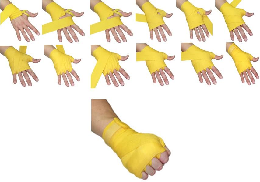 ESTILO FIGHT - Bandagens de luta estilizadas  Como colocar a ... 970211bfca759