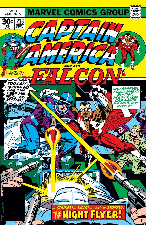 Captain America (1968) Issue #213 #127 - English 1