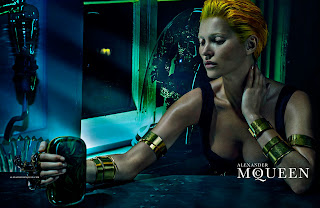Kate Moss Alexander McQueen Ad Photoshoot Spring/Summer 2014 HQ Pictures
