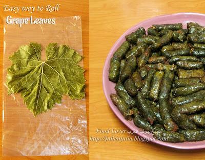 Fail Proof Way to Roll Grape Leaves طريقة جديدة سهلة للف ورق العنب