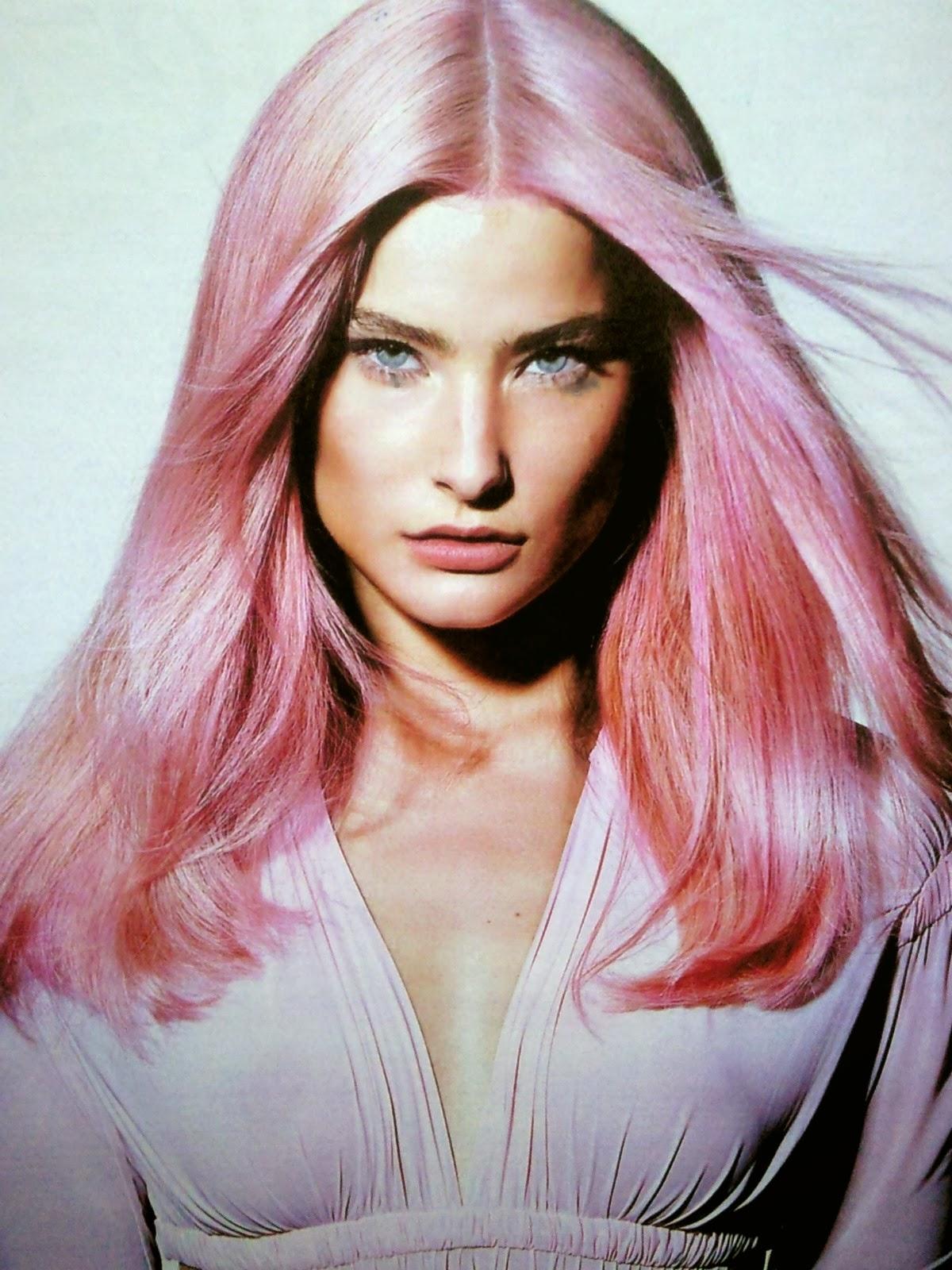 Color rosado en tu pelo verano 2016 - Tinte o bano de color ...