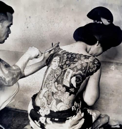 fazer tatuagem de Gueixa