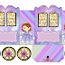 Sofia the First: Princess Carriage Shaped Free Printable Boxes.