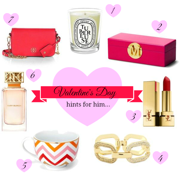 valentines day gift guide hints for him - Valentines Day Gift Guide