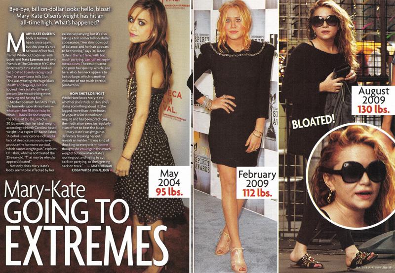 Mary-Kate Olsen Anorexia