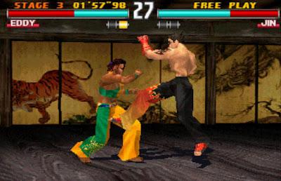 Tekken 3 Jin Eddy Gordo