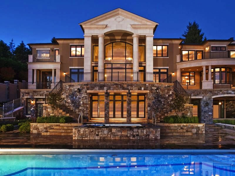 Redefining the face of beauty beautiful homes weekly for Large luxury homes