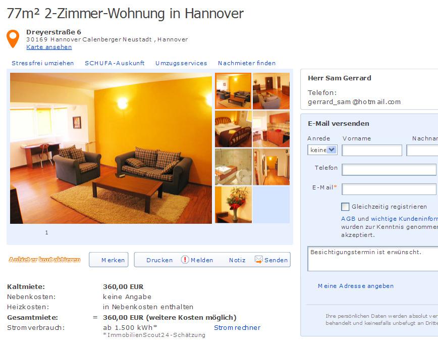 architect str tuzla no 50 bucharest 23832 rumania informationen ber wohnungsbetrug. Black Bedroom Furniture Sets. Home Design Ideas