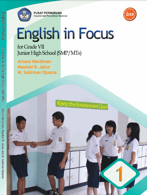 Download Ebook BSE English in Focus for Grade VII SMP