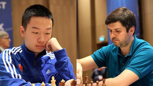 Copa del Mundo de Ajedrez 2015 - Wei Yi - Peter Svidler