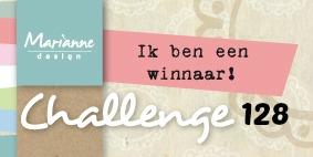 winnaar bij Marianne Design challenge blog