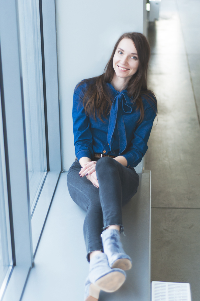 Офисный стиль, украинские модные блоггеры, блог Анны Овсий