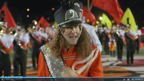 Weird Al leading the marching band