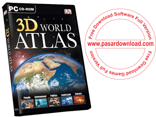 Free Download Software 3D World Atlas