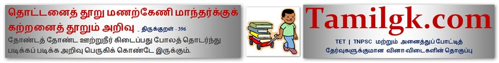 பொது அறிவு நூலகம் - TRB-TET | TNPSC Group 1 2 4 Vao Exam Model Question Paper in tamil pdf Downloads