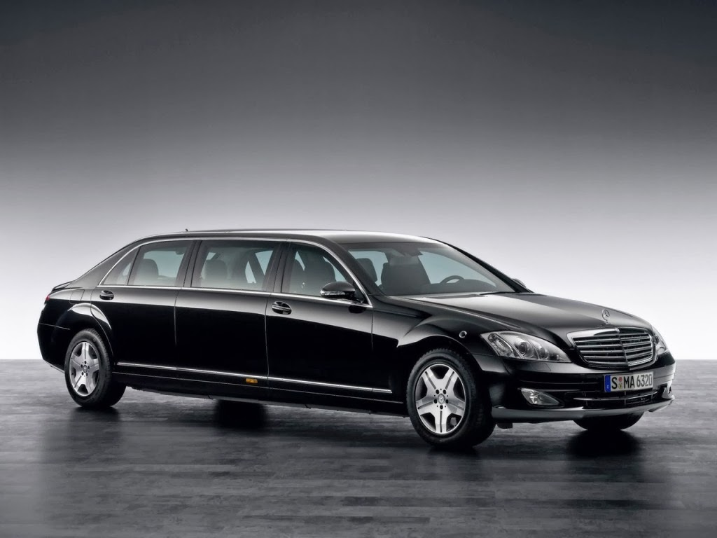 Mercedes S600 Pullman Photos # 3567
