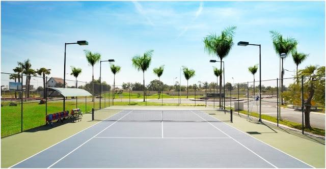 Sân tennis tại Villa Park