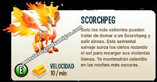 imagen de la descripcion del monstruo scorchpeg