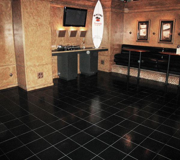 Black Marble Flooring Images