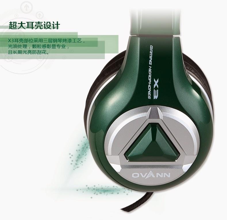 tai nghe gaming ovann x3, songlongmedia, ảnh 5