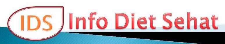Info Diet Sehat yang Kurang Dikenal Publik