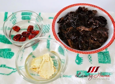 fungus dates dang gui wolfberries recipe ideas
