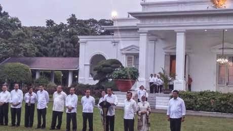 Daftar Nama Mentri Kabinet Kerja Jokowi - JK