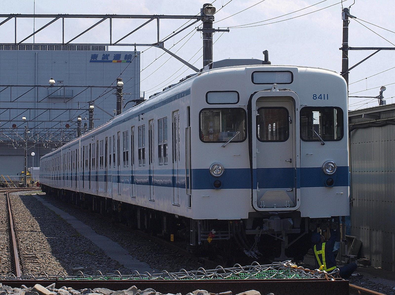 本日の乗り物~業務記録~: 本日の東武鉄道・8111F 本日の乗り物~... 本日の乗り物~業務