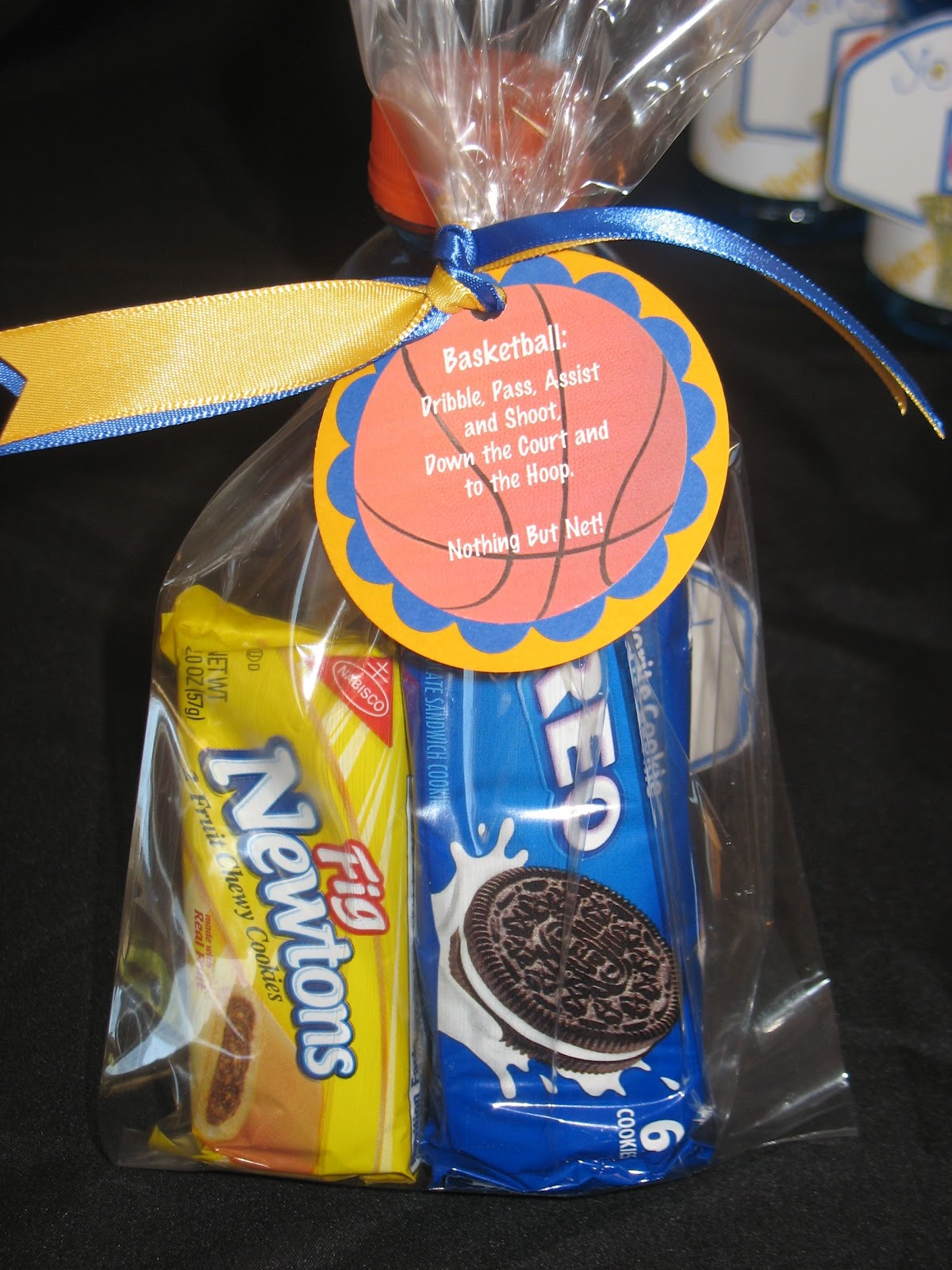 Basketball Team Treats | Crafty and Sweet Treats!
