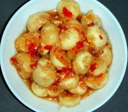 Cách làm mắm cà pháo chua ngọt
