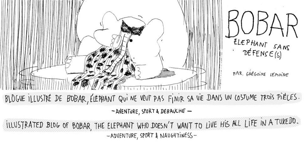 bobar, éléphant sans défense(s) ! aventure, sport et débauche
