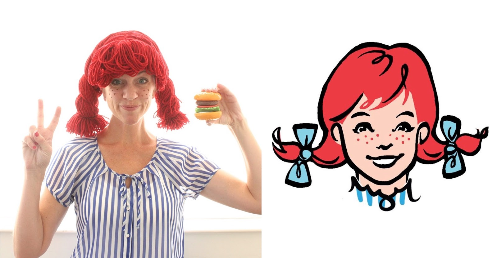 Wendys Wig Hamburger 42