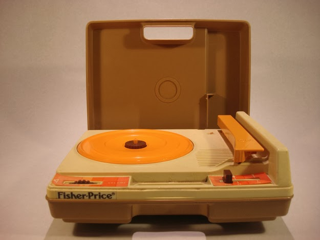 …on your state-of-the-art Fisher-Price record player