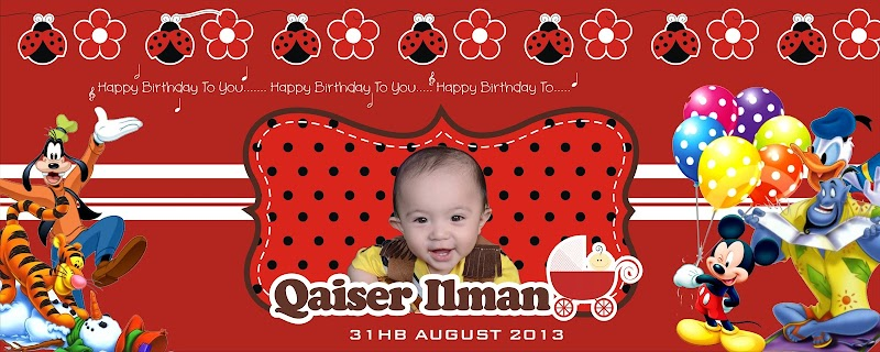 Official Banner 1st Birthday Qi: Done!