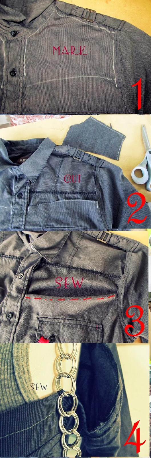 DIY Tutorial, Tshirt Refashion, Tshirt, DIY, Refashion
