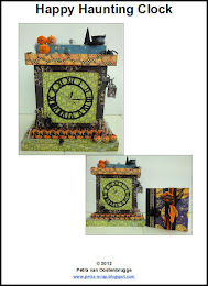 Happy Haunting Clock