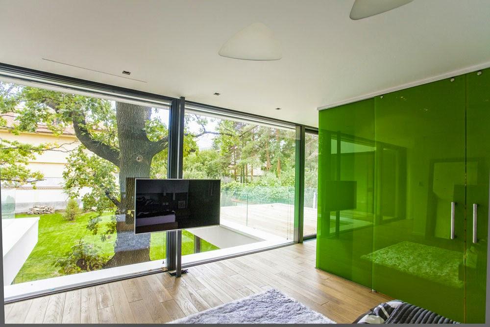 desain rumah kontemporer dengan arsitektur modern yang