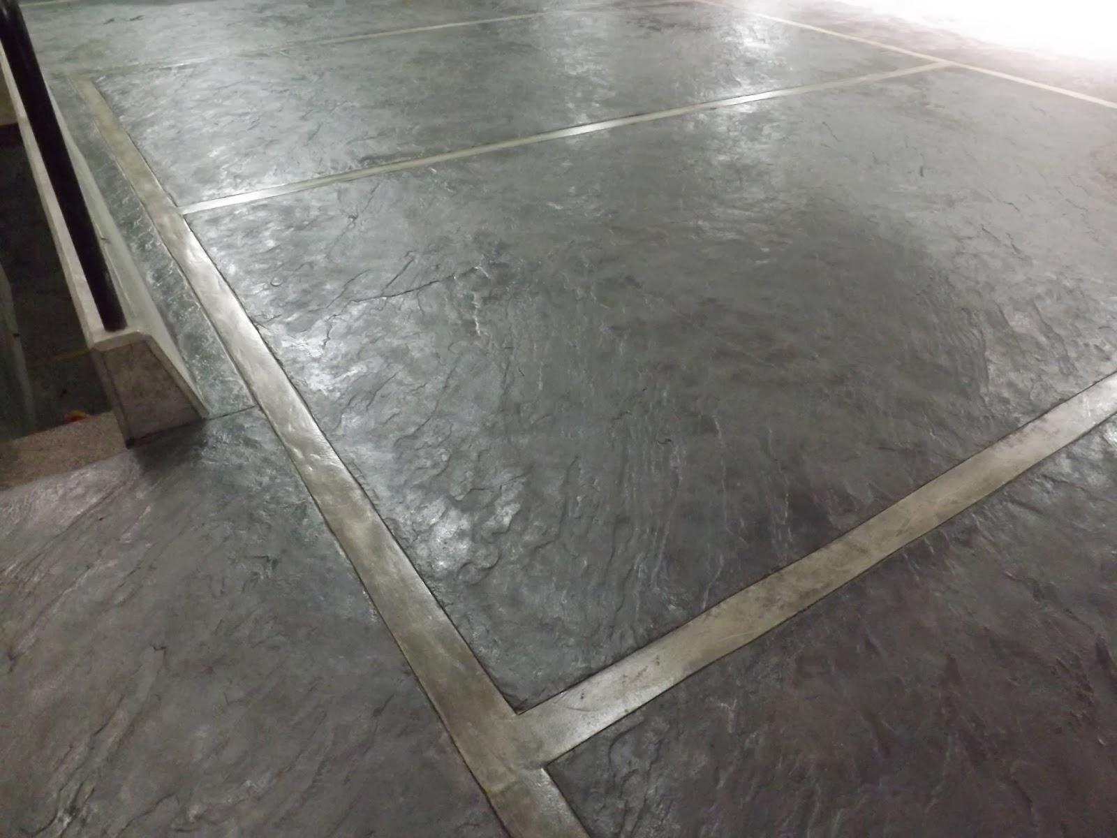 Molde para concreto estampado piel de elefante for Piso concreto pulido