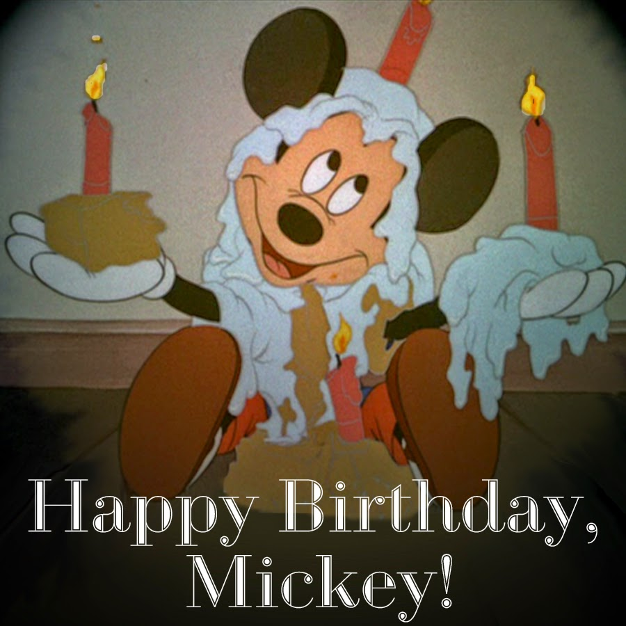 Picturing Disney: Happy Birthday To The Big Cheese