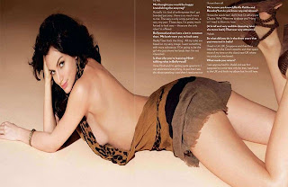 Yana Gupta Hot Backless nude Photoshoot for FHM