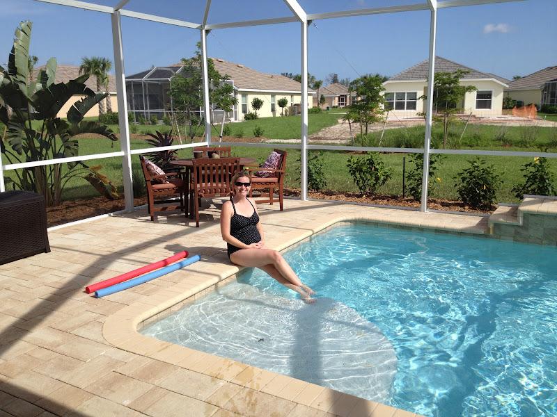 The florida crochet garden finally friday for Baby garden pool
